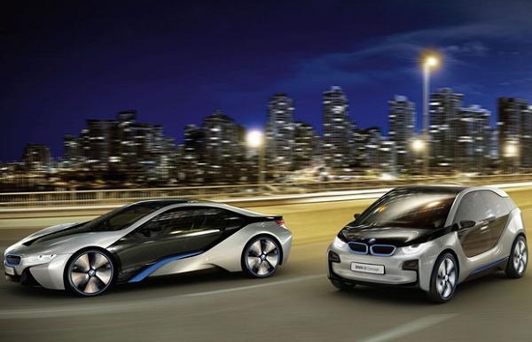 экомобиль BMW