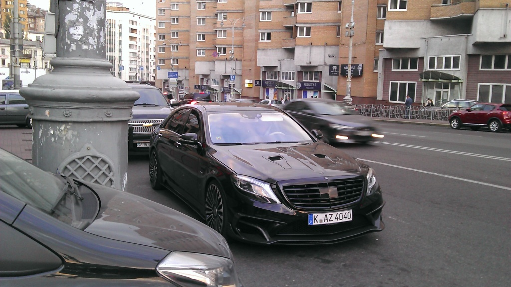 Mercedes S 63 AMG Mansory
